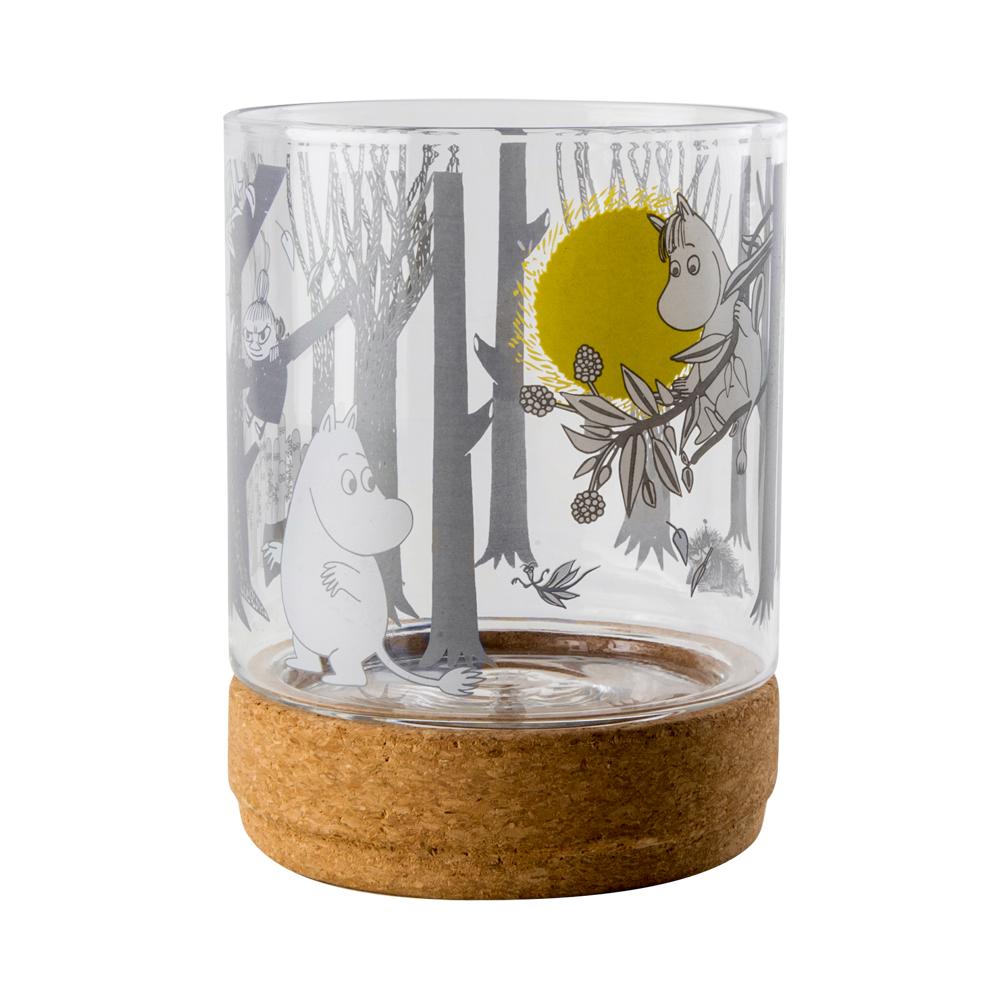 芬蘭Muurla 嚕嚕米玻璃儲物罐 月亮