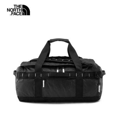 The North Face北面男女款黑色防水可收納旅行包|52S3KY4