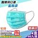 宏瑋 醫療口罩(雙鋼印)(藍眼淚-耳帶隨機)-50入/盒x4 product thumbnail 1