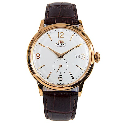 ORIENT東方錶 DATEII鏤空自動機械錶(RA-AP0001S10B)-白x40mm