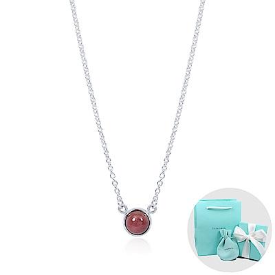 Tiffany&Co. Elsa Peretti 薔薇輝石純銀項鍊