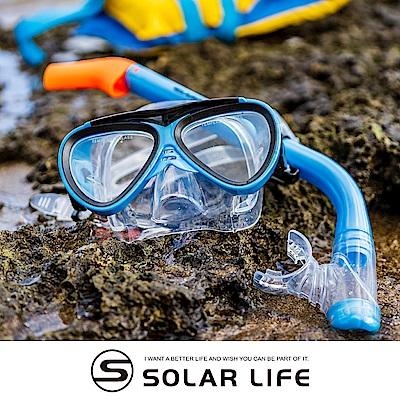 AROPEC 兒童款矽膠面鏡呼吸管組合 Naughty kids頑皮小子.兒童潛水面鏡