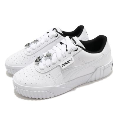 Puma 休閒鞋 Cali Galentines 女鞋 基本款 簡約 舒適 球鞋 穿搭 白 黑 37495002