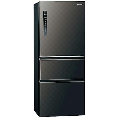 Panasonic國際牌 500L 1級變頻3門電冰箱 NR-C500HV-K (北北基送安裝)