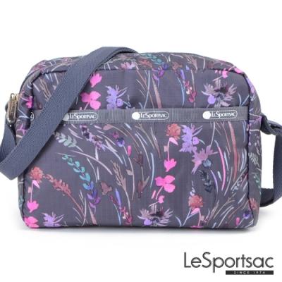 LeSportsac - Standard側背隨身包 (微風之花-灰)