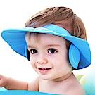 兒童專用洗頭帽童浴帽(隨機顏色兩入)