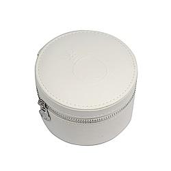 Pandora 潘朵拉 白色皮革珠寶收納盒