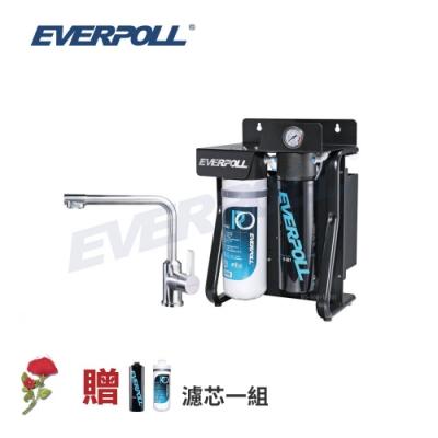 EVERPOLL 直出式極淨純水設備 (RO-900)+無鉛不鏽鋼單把三用龍頭 (T-301)+贈濾芯一組