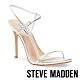 STEVE MADDEN-OAKLYN 奢華晶閃亮眼踝繞帶高跟鞋-銀色 product thumbnail 1