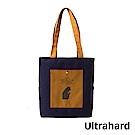 Ultrahard 藏書票A4肩背包- 福爾摩斯(黃藍)