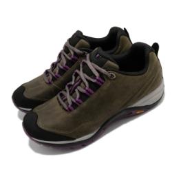 Merrell 戶外鞋 Siren Traveller 3 女鞋 登山 越野 耐磨 黃金大底 珠面皮 避震 棕 紫 ML035340