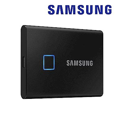 SAMSUNG 三星T7 Touch 2TB USB 3.2 Gen 2移動固態硬碟 經典黑 (MU-PC2T0K/WW)
