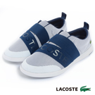 LACOSTE 女用休閒鞋-藍/灰