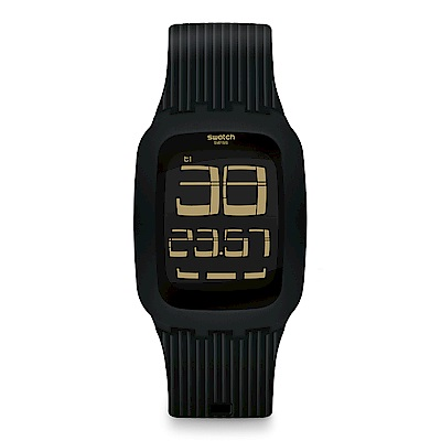 Swatch TOUCH系列 ISWATCH BLACK DISTRICT 黑色街區手錶