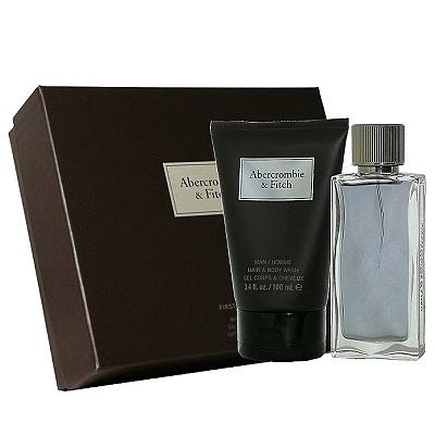 Abercrombie & Fitch 同名經典男性淡香水 50ml 組合
