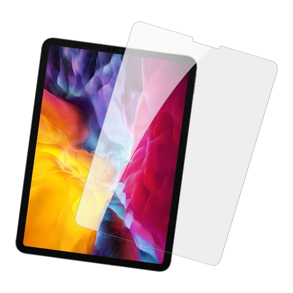 iPad Pro 第四代 12.9吋 高清晰 透明 9H玻璃鋼化膜 平板 螢幕 保護貼-iPad Pro 12.9吋*1