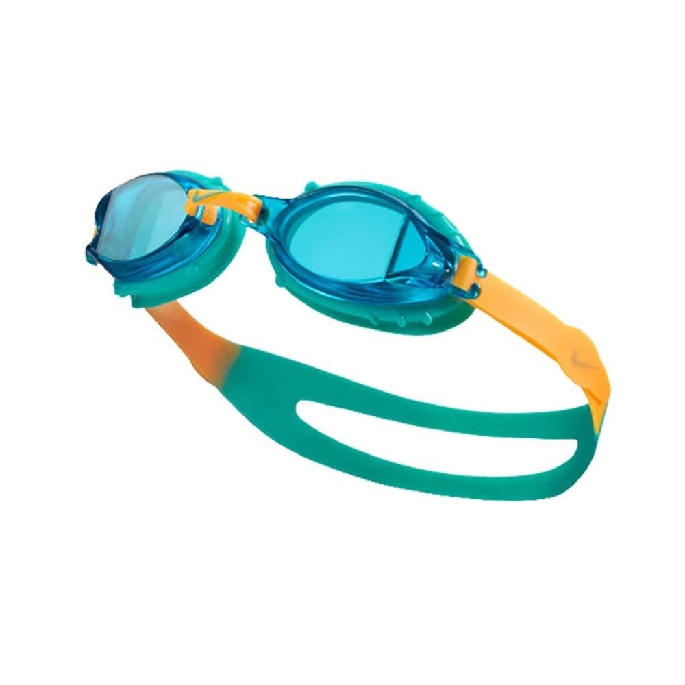 NIKE 青年泳鏡  SWIM 藍綠橘