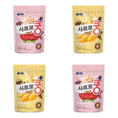 韓國 【BEBECOOK】 幼兒益生菌泡芙4入組(香蕉、草莓)