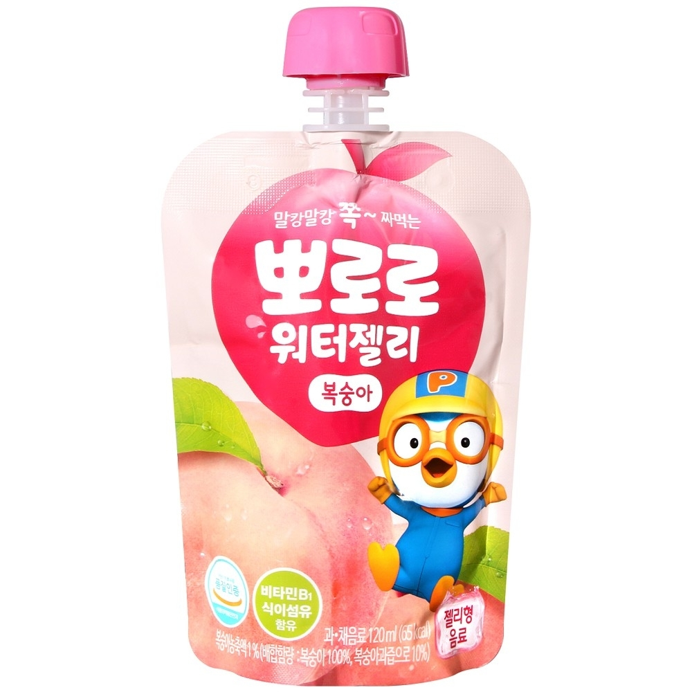 PALDO PORORO好朋友果凍飲-水蜜桃風味(120g)