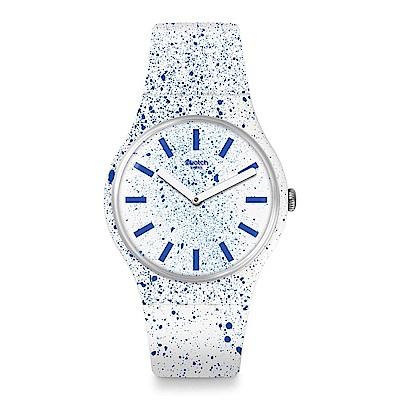 Swatch FUZZY LOGIC 糖粉蛋糕手錶