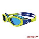SPEEDO 兒童 運動泳鏡 Futura Biofuse Flexiseal 萊姆綠/藍
