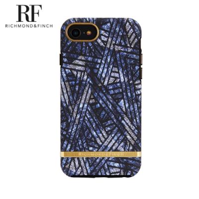 RF瑞典手機殼 金線框-迪斯可單寧 (iPhone 6s/7/8 4.7吋)