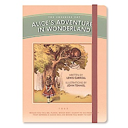 Design 愛麗絲綁帶萬年曆週誌