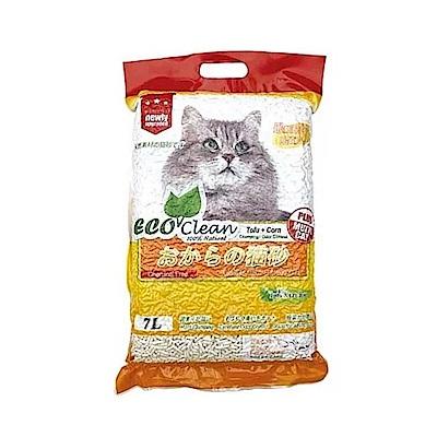 ECO艾可 豆腐玉米貓砂 7L-單包