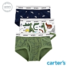 Carter's台灣總代理 恐龍插畫3件組三角褲