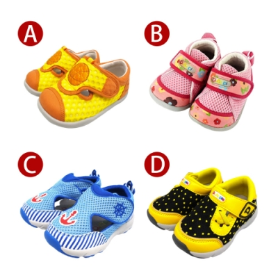 Dr. Apple機能童鞋_透氣網布小童鞋-四款共10色
