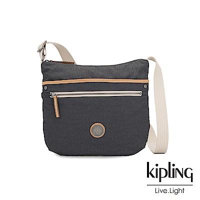 Kipling 城市探索霧灰前拉鍊側背包-ARTO-EDGELAND系列