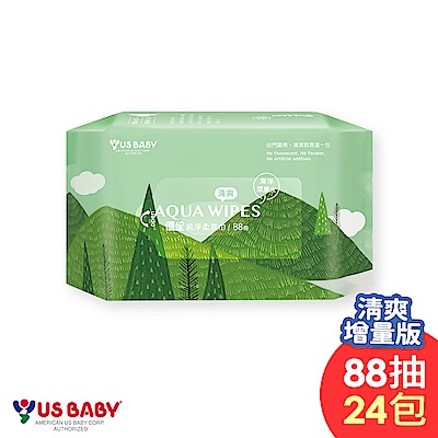 優生純淨柔濕巾88抽-清爽型24包