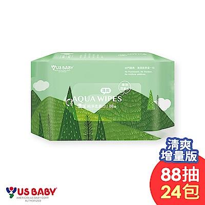 [時時樂限定71折] 優生 純淨柔濕巾清爽型(88抽24包)