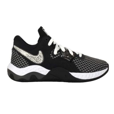 NIKE RENEW ELEVATE II 男籃球鞋-訓練 中筒 避震 CW3406004 黑白