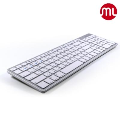【morelife】1對4藍牙Mac超薄鍵盤WKB-1700M