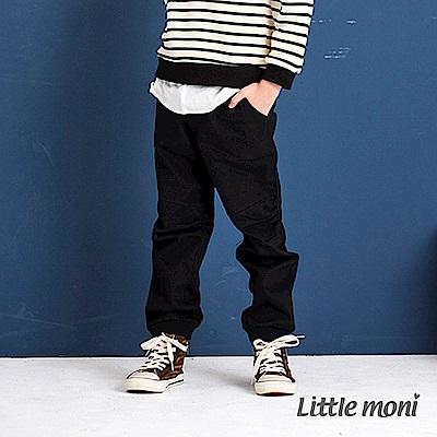 Little moni 抓褶束口長褲 (2色可選)