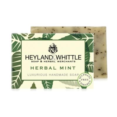 *H&W英倫薇朵 綠野薄荷手工香氛皂120g