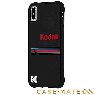 美國 CASE●MATE iPhone XS Max Kodak柯達聯名款強悍防摔殼-霧黑