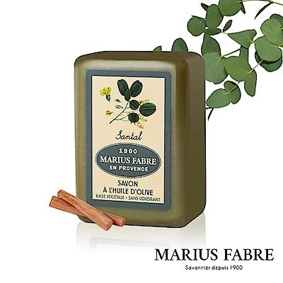 法國法鉑-天然草本檀香橄欖皂-250g/顆