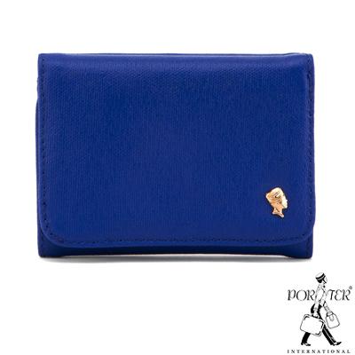 PORTER - 輕甜繽紛SPIRIT暢銷人氣皮夾 - 藍