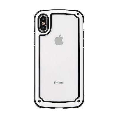 【TOYSELECT】iPhone XR 強化MODE防撞純色手機殼:白玉色