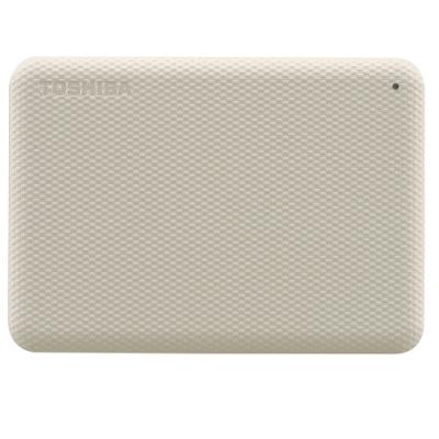 TOSHIBA 東芝 V10 Canvio Advance 先進碟 1TB 2.5吋外接式硬碟 (米白)