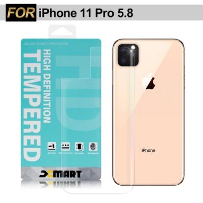 Xmart for iPhone11 Pro 5.8 薄型背面9H 玻璃保護貼-非滿版