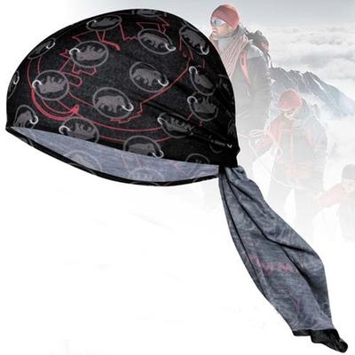 長毛象 Zion Original Headband 超彈性吸濕快乾舒適頭巾.圍脖.口罩_煙霧黑