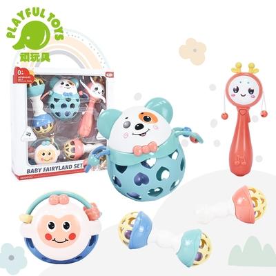 Playful Toys 頑玩具 軟膠搖鈴組(搖鈴音樂鈴禮盒)