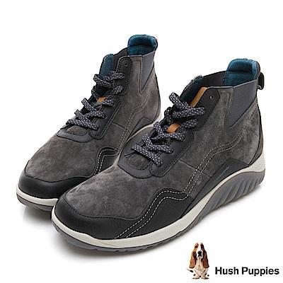 Hush Puppies TIDAL 戶外風短靴-深灰