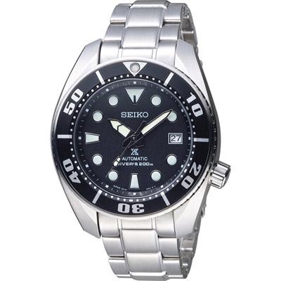 SEIKO PROSPEX 200米專業潛水機械錶( SBDC031J)黑/45mm