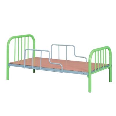 MUNA 單人綠色鐵床T1-19  195X95X90cm