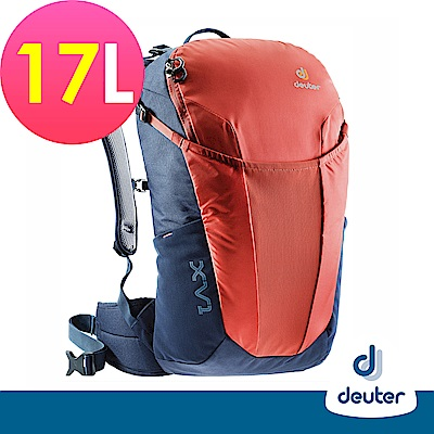 【deuter德國】 X-Venture XV1 17L多功能休旅背包3850018紅灰藍