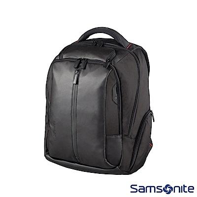 Samsonite新秀麗 Locus智慧型可調式夾層筆電後背包VII 14(黑)
